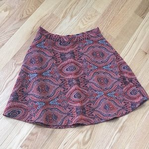 ⭐️🆕Boden Limited Edition Paisley Skirt⭐️